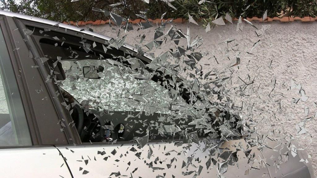 Car crash suspended license